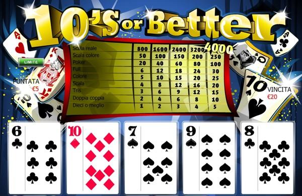 Regole poker classico slot 58616