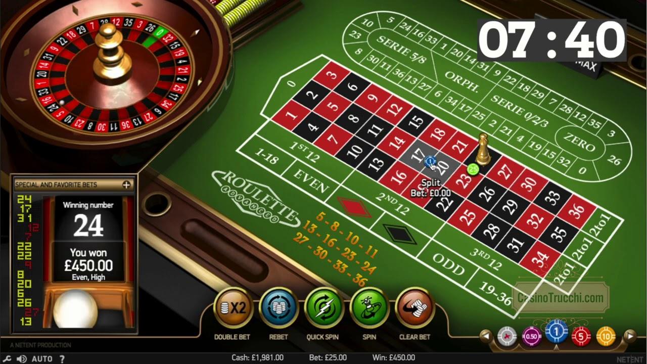 Vincere alla Roulette online 62235